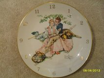 REDUCED - Norman Rockwell Clock by Gorham 1955 WORKS!! in Aurora, Illinois