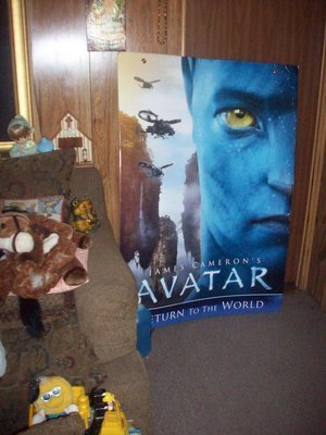 Double Sided Avatar Original Movie House Poster